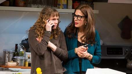 Sally Murphy and Jessica Hecht in