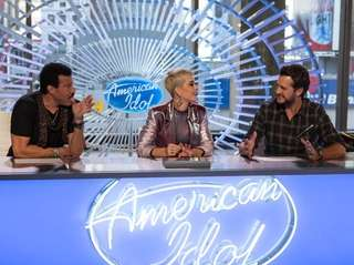 Superstar judges Luke Bryan, Katy Perry and Lionel