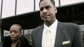 Former NBA basketball star Jayson Williams leaves Somerset