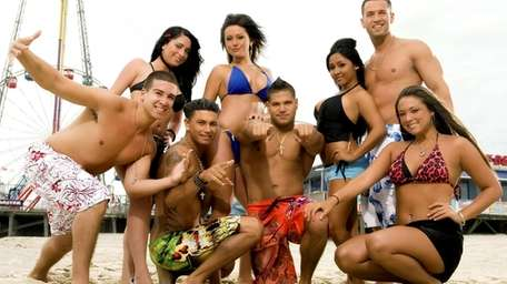 Cast of MTV's 'Jersey Shore'