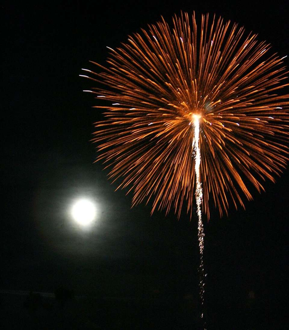 Jones Beach State Park July Fourth fireworks are