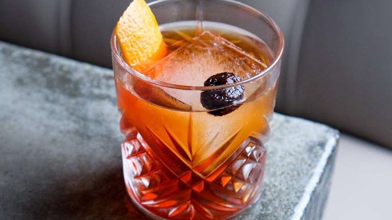 Coffee-infused bourbon invigorates the Breakfast Old-Fashioned at Cork
