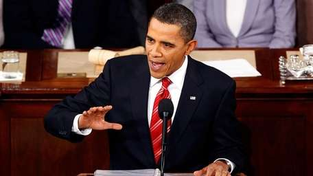 President Barack Obama gives his State of the