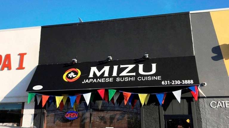 Mizu Japanese Sushi is new in Farmingdale.