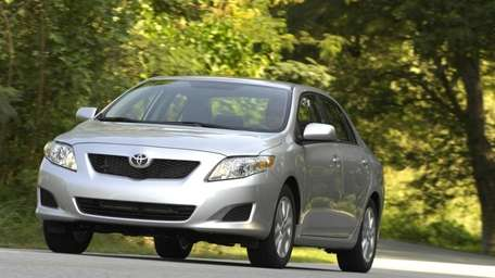 The 2010 Toyota Corolla model has been recalled.