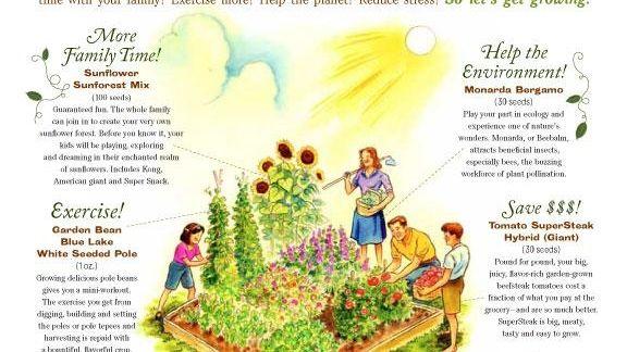 Burpee's New Year's Resolution Garden package