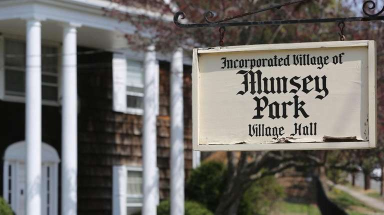 Munsey Park Village Hall, shown Friday, April 25,