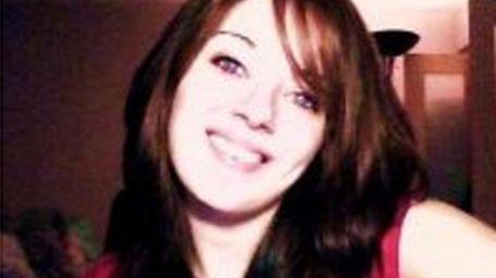 Taylor Nolte, 20, of Centereach, seen in an