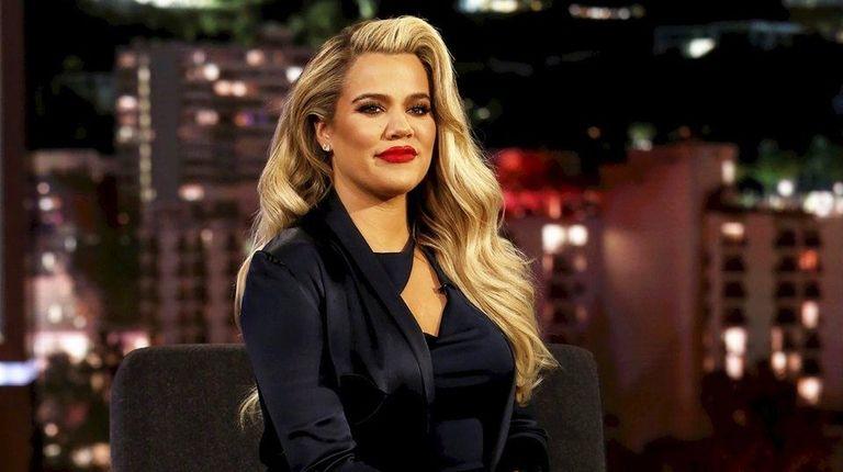 Khloé Kardashian appears on