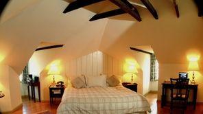 The Admiral Fell Inn is a small, European-style