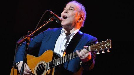 Paul Simon performs at NYU Skirball Center in