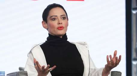 Rose McGowan participates in the