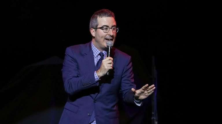 Comedian John Oliver made light of a Long