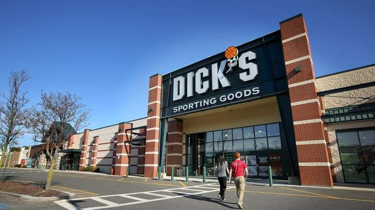 The Dick's Sporting Goods store in Melville is