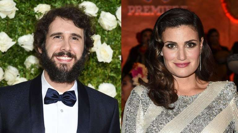 Josh Groban and Idina Menzel are coming to Colorado
