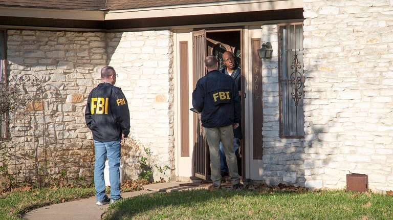 Authorities investigate in East Austin, Texas, after a