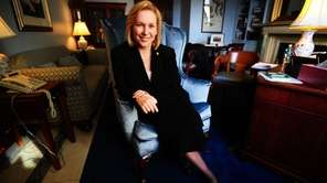 NY Sen. Kirsten Gillibrand is interviewed by Newsday