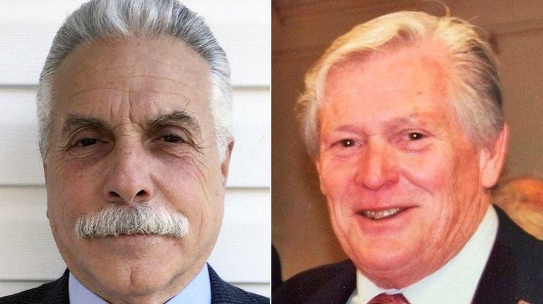 Anthony Gagliardi, left, is running against incumbent Williston