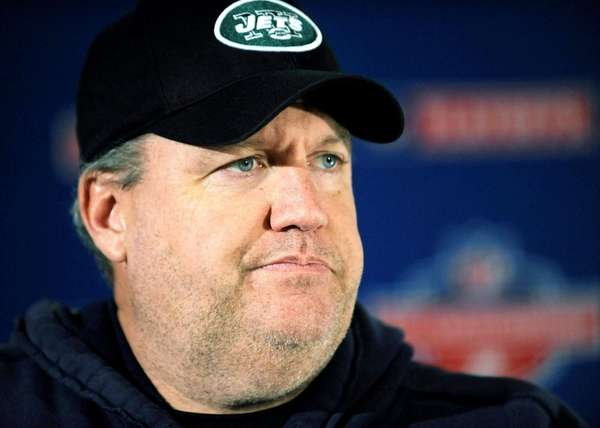New York Jets coach Rex Ryan (Jan. 20,