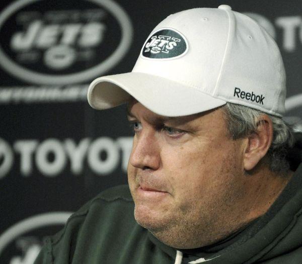 Jets coach Rex Ryan apologizes Sunday for making