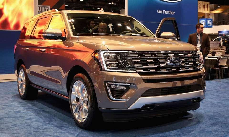 Ford's other winner is the Expedition, which was