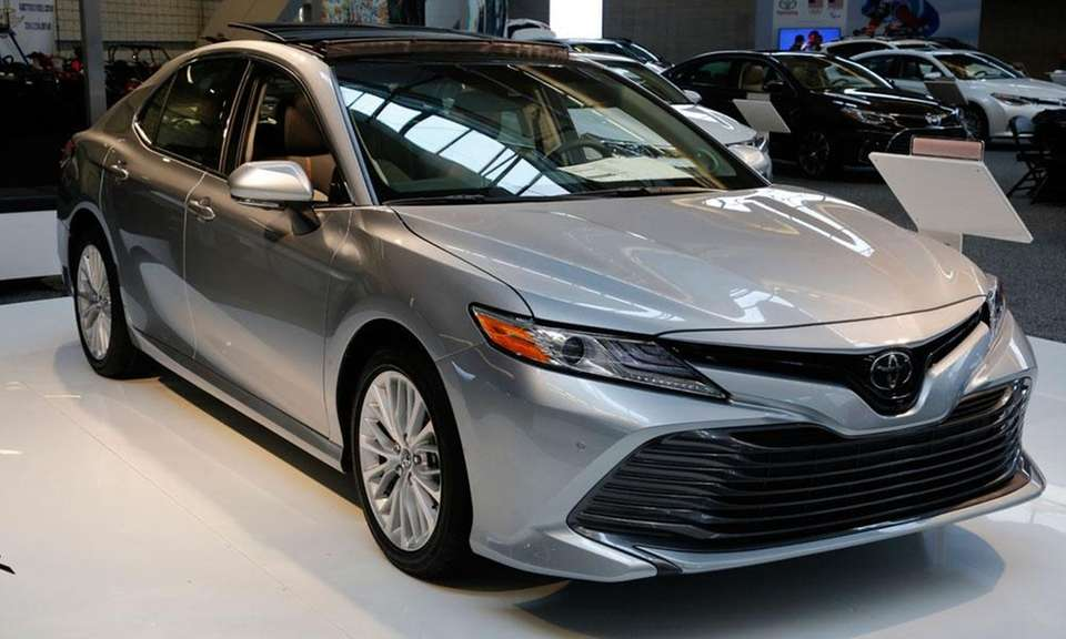 The redesigned Toyota Camry won its first Best