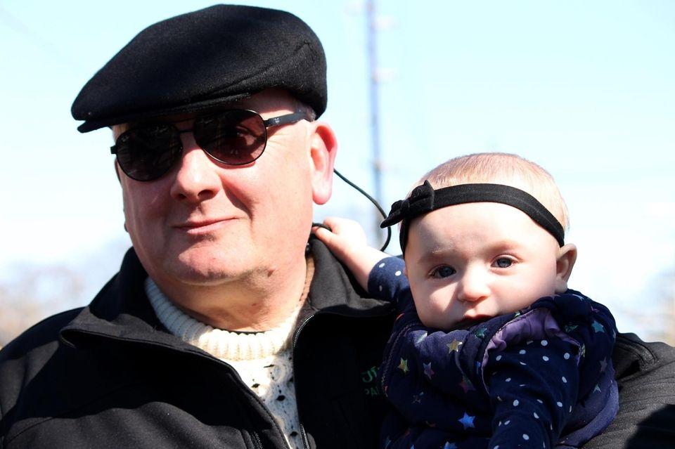 Ronkonkoma?s St Patrick?s Day Parade Chairman, Jimmy Tallman,