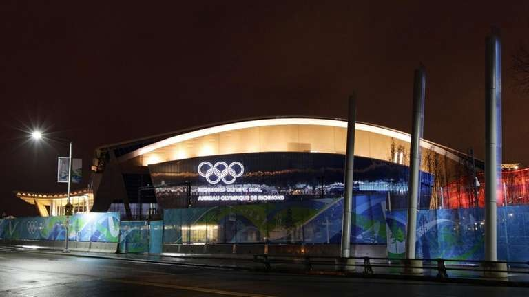 Richmond Olympic Oval, the speedskating venue for the
