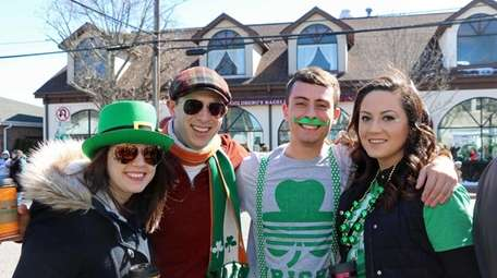 Revelers at the 51st annual Westhampton Beach St.