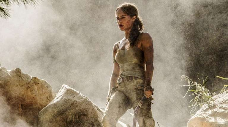 Alicia Vikander assumes the role of Lara Croft