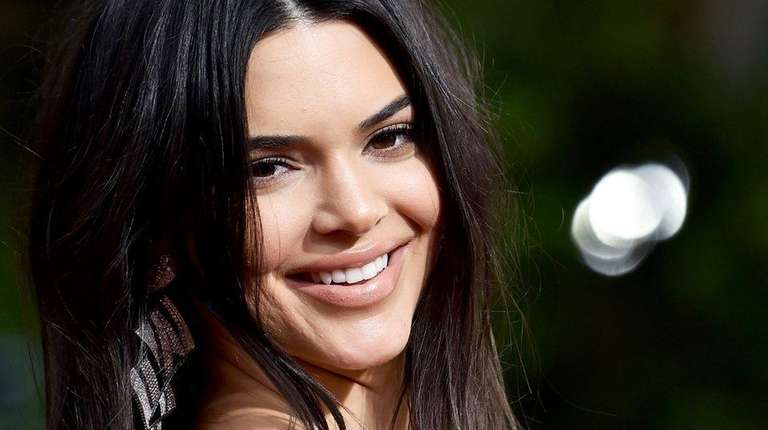 Kendall Jenner attends The 75th Annual Golden