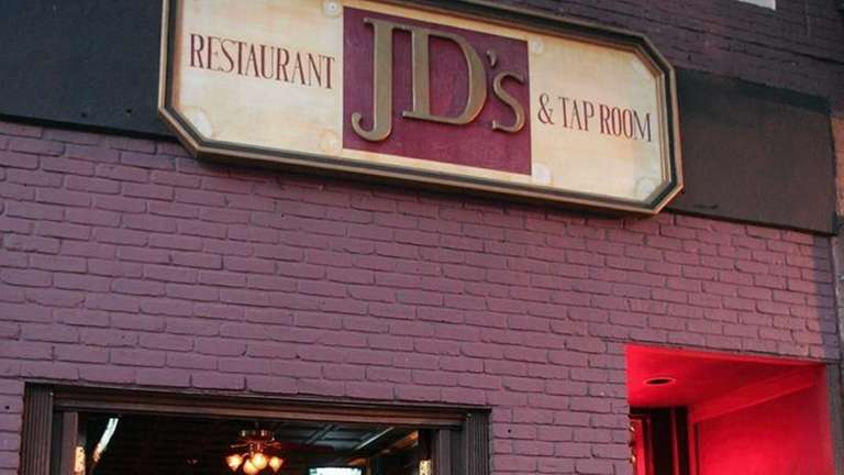 The exterior of JD's Restaurant and Tap Room