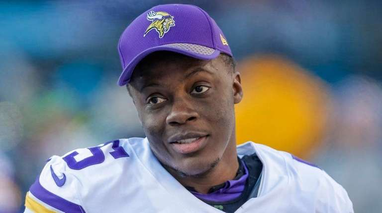 Teddy Bridgewater on the sidelines during a game