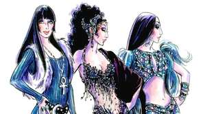Bob Mackie released sketches of three of the
