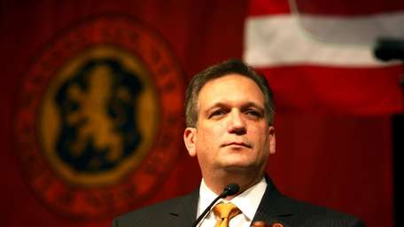 Nassau County Executive Ed Mangano (Jan. 1, 2010)
