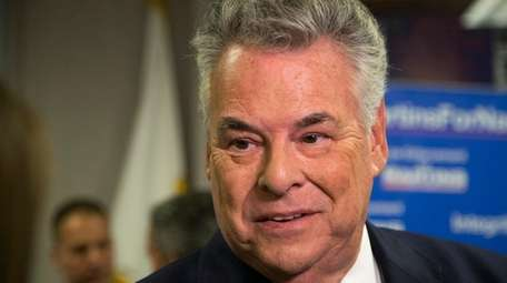 Rep. Peter King (R-Seaford) on Oct. 30, 2017