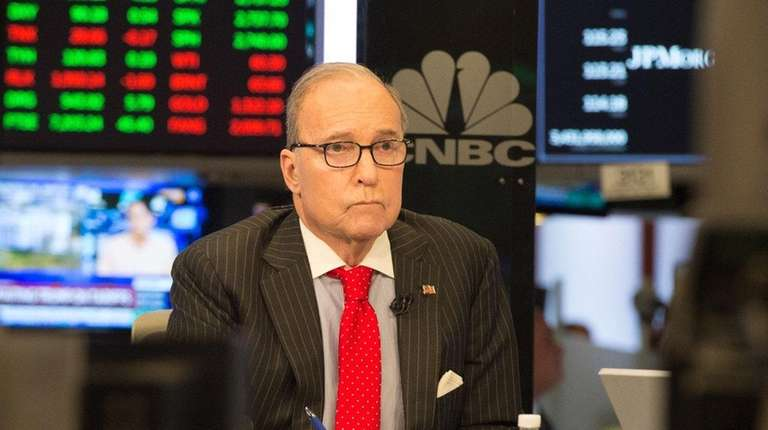 Larry Kudlow, seen here on CNBC on