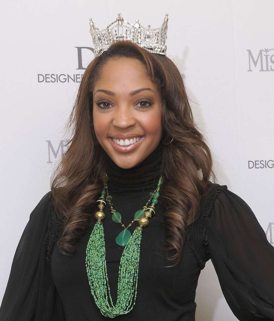 Miss America 2010, Caressa Cameron, of Virginia, appears