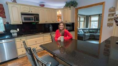 Sandy Chiofolo in the kitchen of her Smithtown