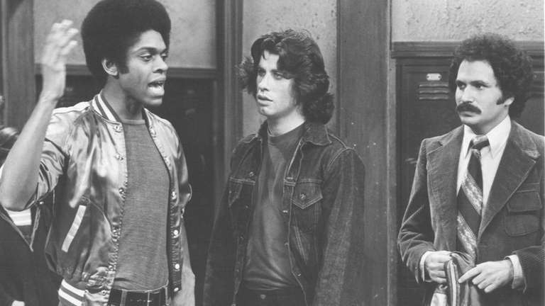 From left, Lawrence Hilton-Jacobs, John Travolta and Gabe