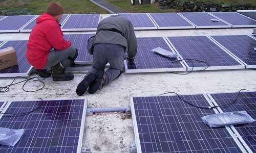 According to Green Careers Journal, solar-industry growth is