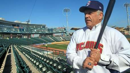 Brooklyn Cyclones manager Wally Backman says he's dedicated
