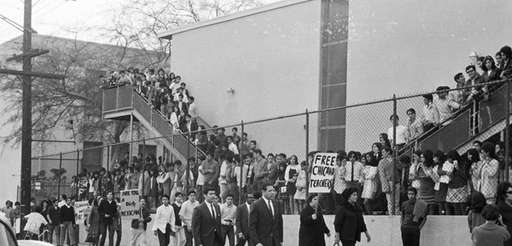 This March 1968 photo provided by the UCLA