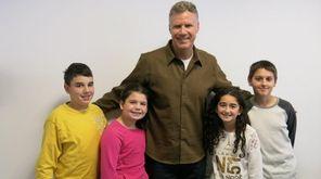 Actor Will Ferrell met with Kidsday reporters John