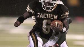 Sachem North's Davon Lawrence is one of eight