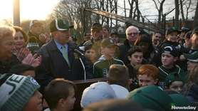 Numerous youth baseball organizations joined Nassau County Legis. Steve