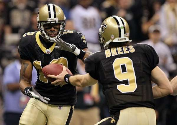 Quarterback Drew Brees #9 of the New Orleans