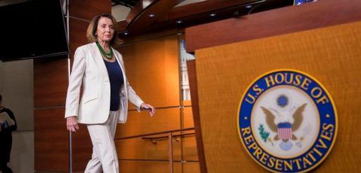 House Minority Leader Nancy Pelosi (D-Calif.) arrives for