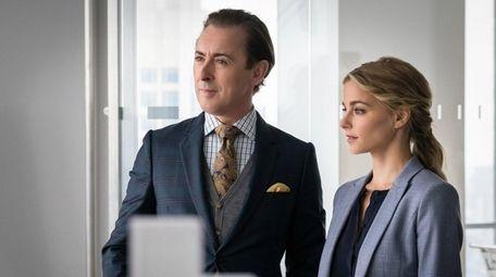 Alan Cumming and Bojana Novakovic star in