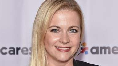Melissa Joan Hart at a benefit in Westchester